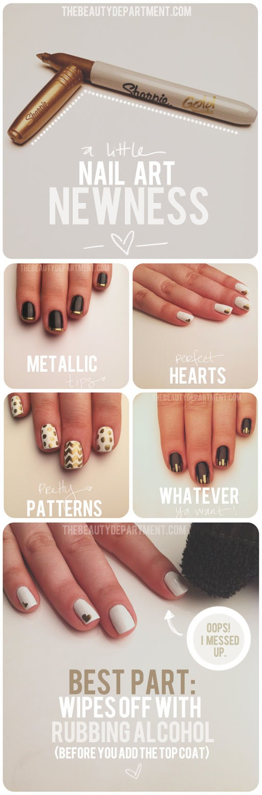 2 Use A Sharpie To Create Streak Free Designs Ly Base Color