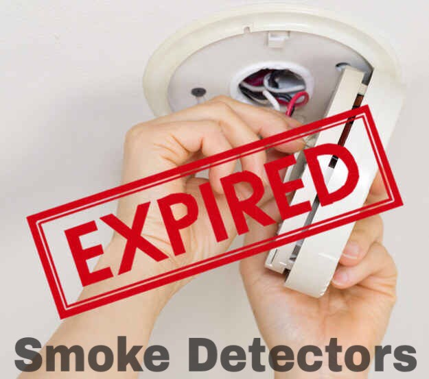 Smoke and carbon monoxide detectors can stop working after 10 years, even if the batteries are replaced. Solution: Most should have the expiration or manufacture date listed somewhere on them, but if you move into a new home and don't know the age, it's safer just to replace them.