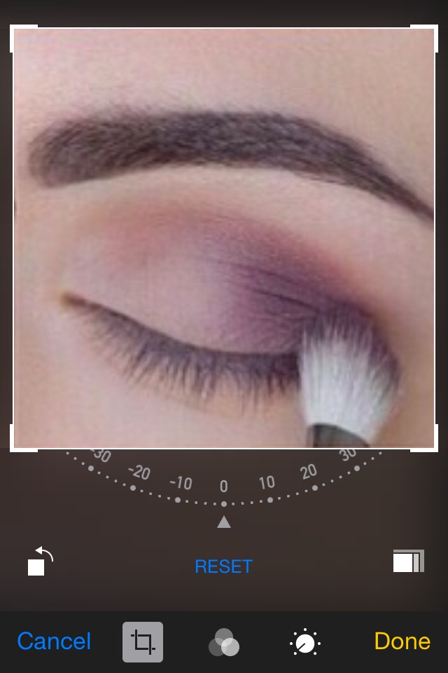 Use a blending brush and gently blend the dark color with the light to get rid of the harsh line. Then Apply another light color above your crease towards your eyebrow line. (I prefer white for this)