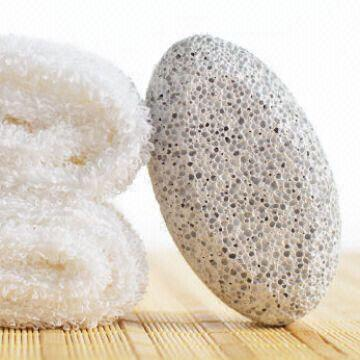 Can also buy a Pumice stone. These are stones made from volcanic ash rubbing them against calluses keeps them soft as well