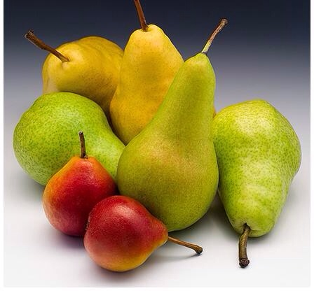 --> Pears are super weight loss fruits that pack plenty of fiber. In fact, most fruits pale in comparison to the amount of fiber that a pear provides! The high fiber content helps you to feel full, which aids weight loss. This is also a cholesterol-lowering fruit.