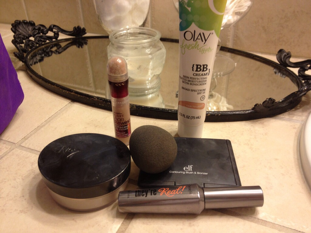 After you wash your face and moisturizer, Apply BB cream-- I use Olay. If you need more coverage go to a beauty store and get someone to help you pick one out that's good for YOUR SKIN. Then apply concealer. (Scroll)-->