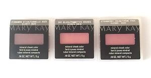Mary Kay's blushes are well pigmented some of thier blushes include an eyeshadow and blush two in one, which is something I have called a mineral eye and cheek powder.