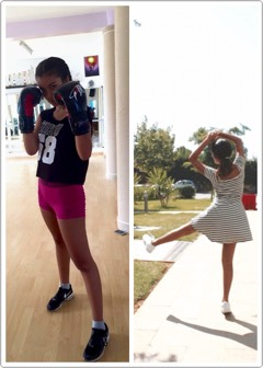 If you are not interested in working out, you can always try dancing and boxing. These are the two most amazing ones that workout for me and they kill the abs AMAZINGLY😩😍.