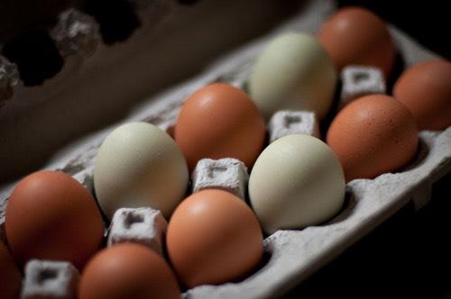 Two egg whites.