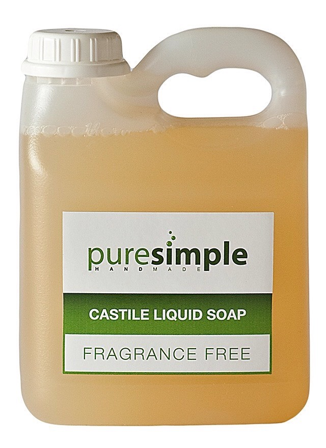 HOW TO: 1. Mix 2 cups of liquid castile soap with ½ cup of warm water in your bowl. Castile soap is any soap made entirely from vegetable oil, and can be found at your local health food store.