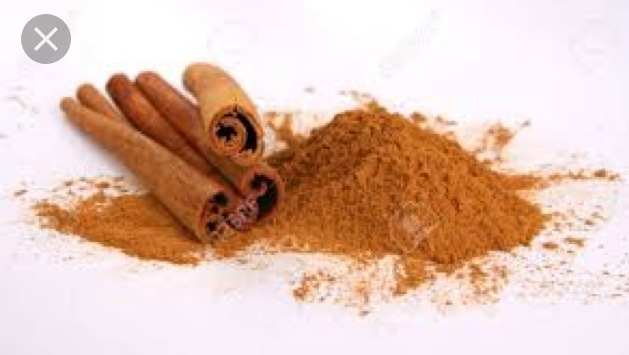 So first you'll need a table spoon of cinnamon
