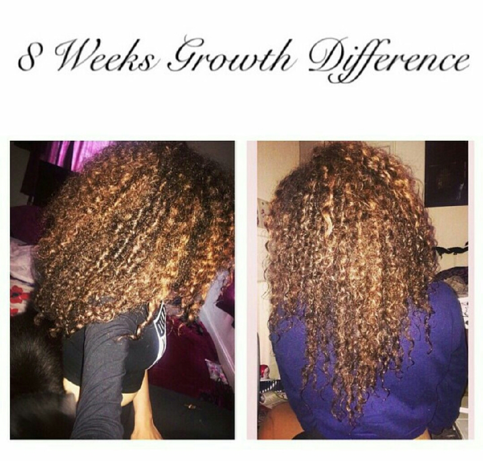 Use Jamaican black castor oil at least 2-3 times a week,making it either a part of your deep condition,loc method or just as a leave in.Massage onto the hair while doing this to stimulate hair growth.These are my results up to 8weeks :)