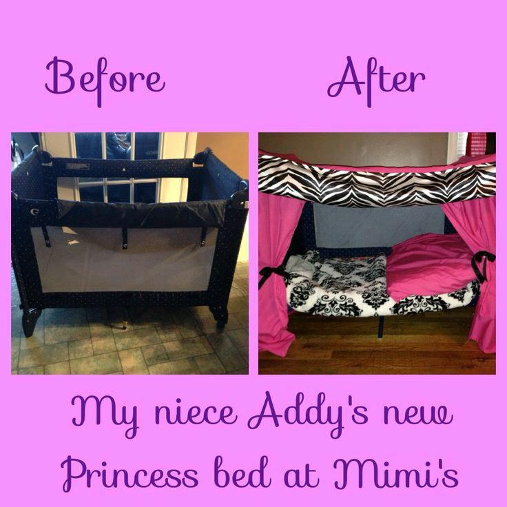 How To Turn A Playpen Into A Toddler Bed By Georgette