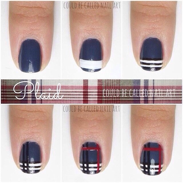 so cute for an accent nail, or even the whole hand!