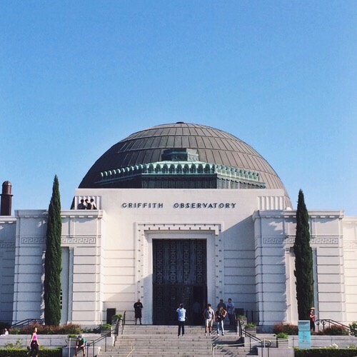 Griffith Observatory Planetarium, telescopes & city views