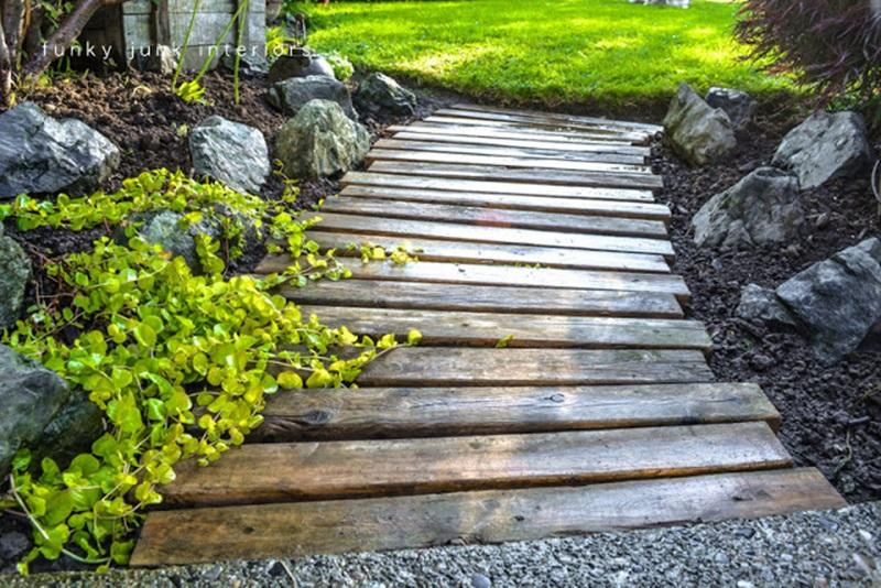 Wooden Bridge Path