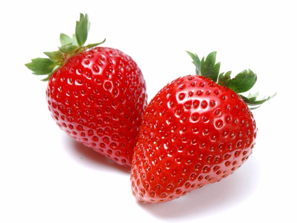 Strawberry:The color red is known to help stoke the fire: A 2008 study found that men find women sexier if they're wearing red, Strawberries are also an excellent source of folic acid, a B vitamin that helps ward off birth defects in women and may be tied to high sperm counts in men.
