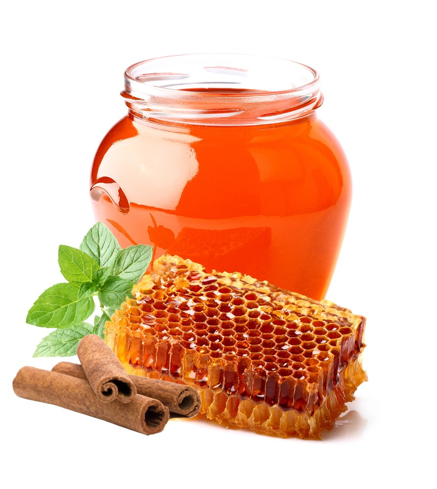 Honey kills bacteria and eliminates acne and cinnamon has oils that allow it to be an anti-inflammatory and anti clotting agent to skin.