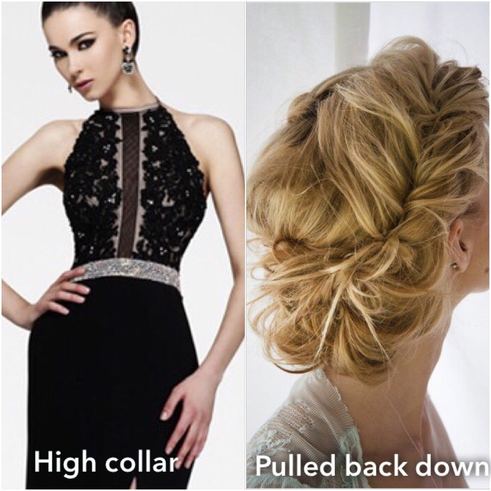 Types Of Hairstyles According To The Dress Youre Wearing By Lynda