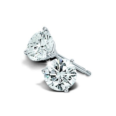 While fake designer bags are a don't, fake diamond studs are a huge do. Faux stones are very hard to spot to the untrained eye.