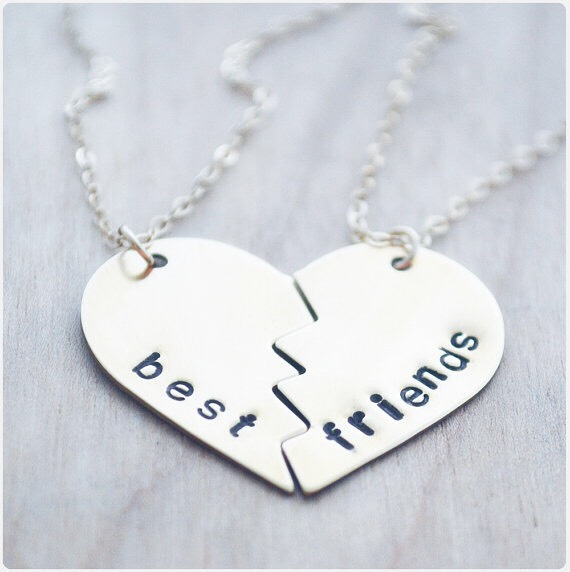 Bff necklace- any