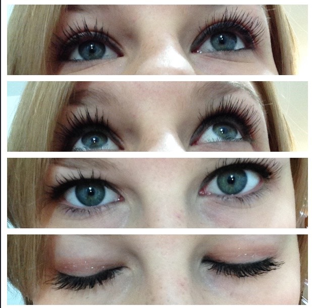 Tips: Do 1 eye at a time Curl lashes before  Use blow dryer to curl lashes  May repeat steps for ultra length!