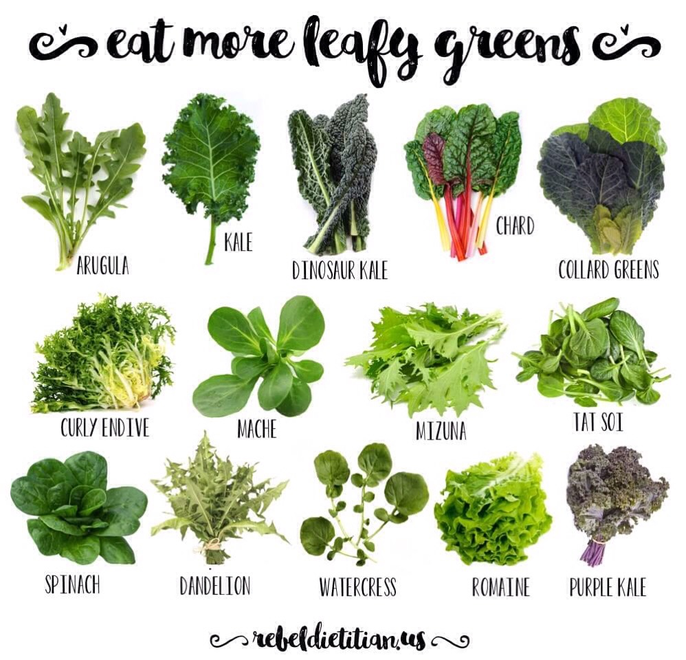 Leafy greens are a great way to decrease muscle soreness! They produce compounds that reduce inflammation in the body but they also produce low glycemic energy. So there's no sugar high or spike in blood sugar!