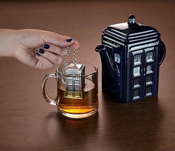 Doctor Who Tardis Tea Infuser!
