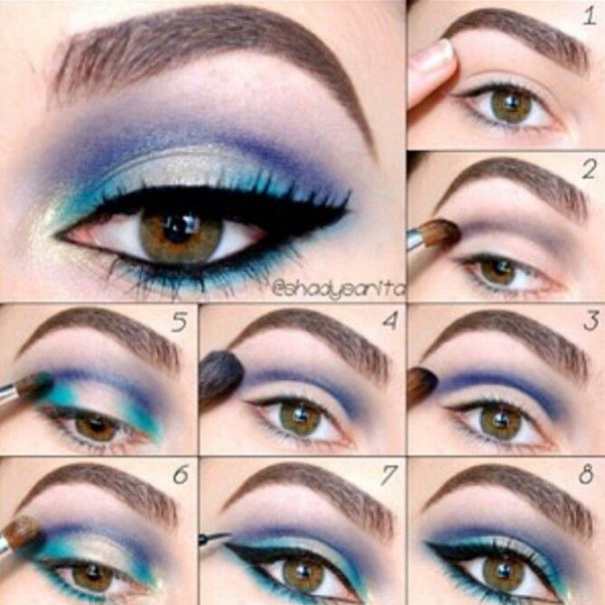 ... diffe kinds makeups step by step · diffe eyeliner styles ...