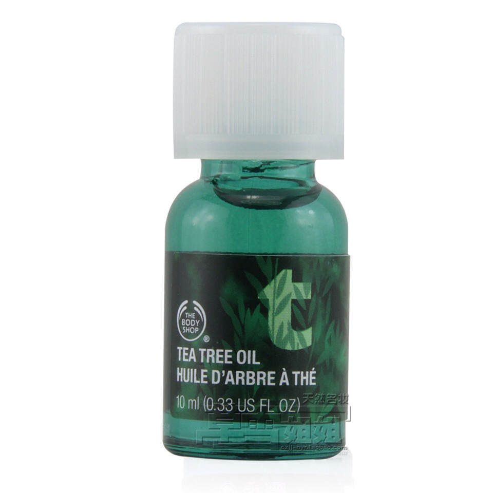 Tea tree oil from the body shop (10$)