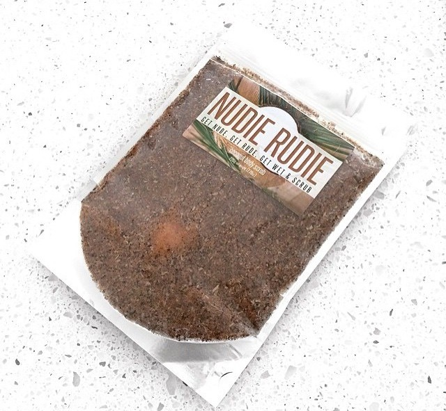 The Amazing Nudie Rudie Natural Body Scrub...What's in it????