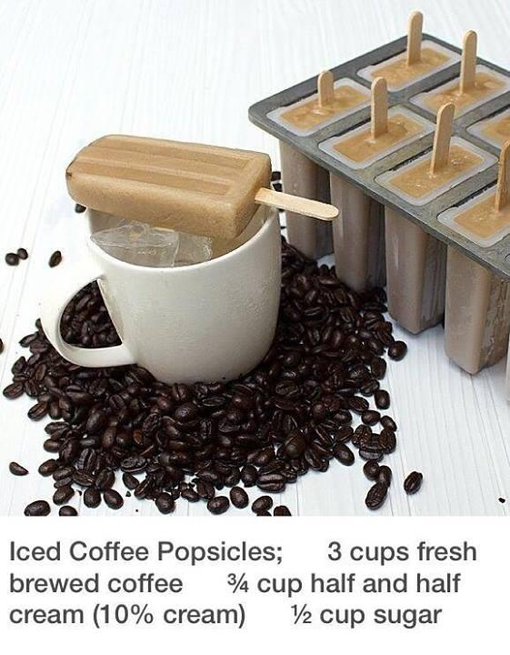 If you are a coffee lover and have never had homemade Iced Coffee Popsicles, this life hack is for you.