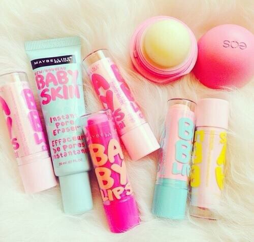 I hate when my lips are chapped or dry, so I carry Chapstick or lip balms so when ever they chapped I'm ready.