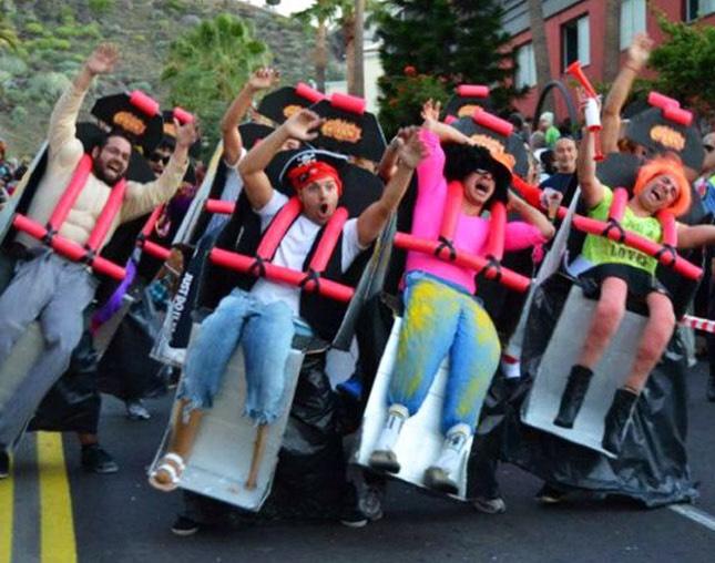 Rollarcoaster ride