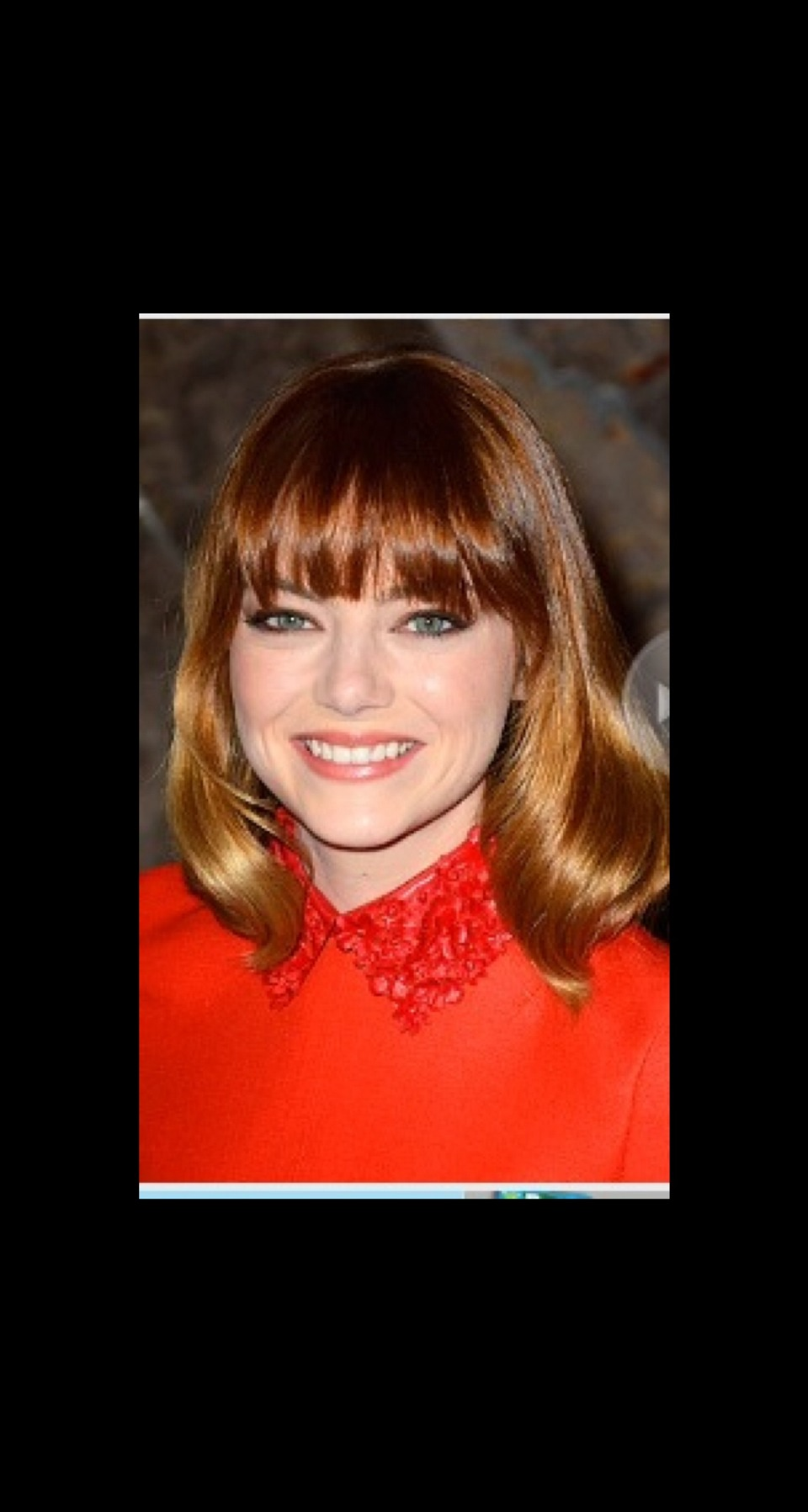 EYELASH-SKIMMING BANGS It used to be that we saw this style a few months after women cut their fringe (it was the dreaded growing-out phase), but lately we've been noticing stars like Catherine Zeta-Jones and Emma Stone opting for this '70s-inspired length right off the bat.
