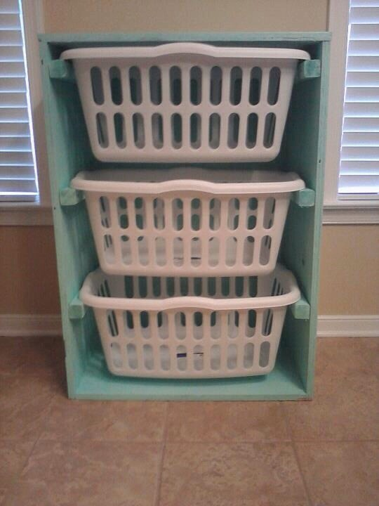This would be perfect for sorting all the laundry!