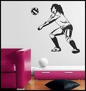 Cute Volleyball Theme Room