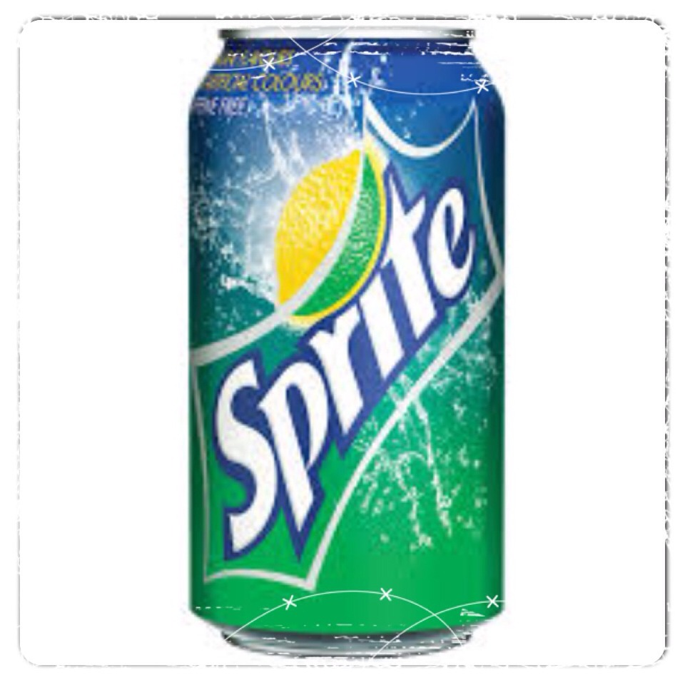 First take some sprite and put it in the mold.