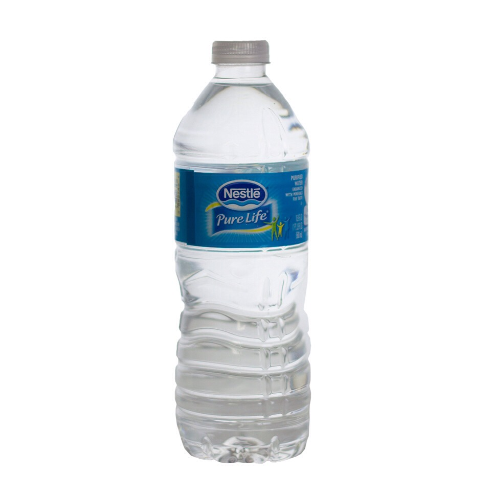 Most importantly a bottle or two of water