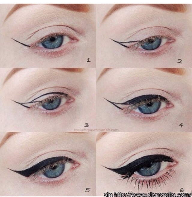 Enjoy Your Perfect Winged Liner