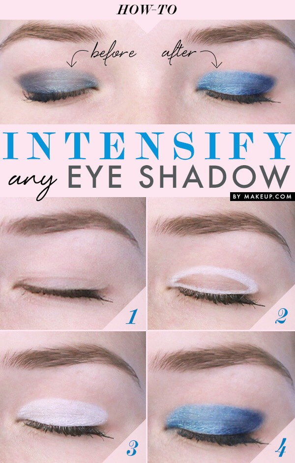 If you really want your eye shadow to pop just use this trick