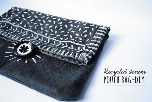 use the pant leg to make a pouch