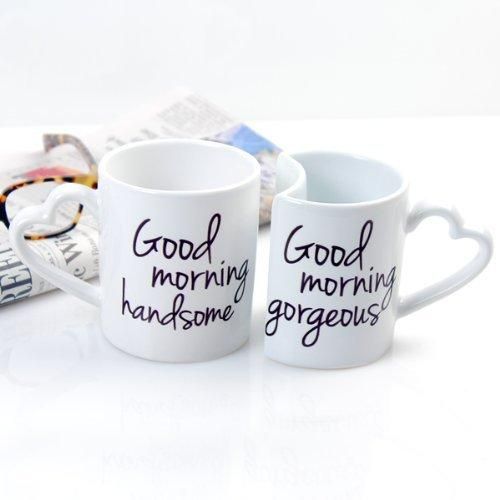 The Cathy's Concepts Mug Set Link: http://homegadgetsdaily.com/the-cathys-concepts-good-morning-coffee-mug-set/