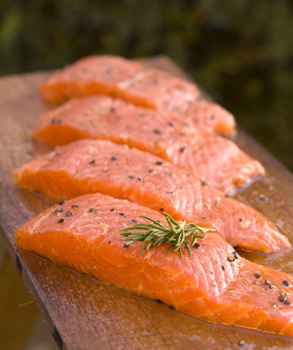 Salmon is really good for growing your hair out eat eat eat ☺️