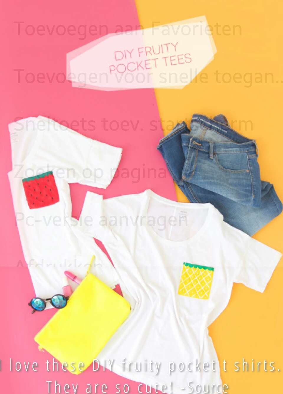 http://diycandy.tumblr.com/post/148888134190/i-love-these-diy-fruity-pocket-t-shirts-they-are