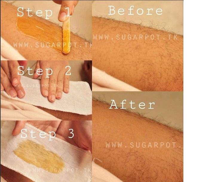 APPLICATION | USING STRIPS Apply strip over wax, quickly rub back & forth over the strip while applying some pressure (heat from friction is key).  Take a deep breath & pull!