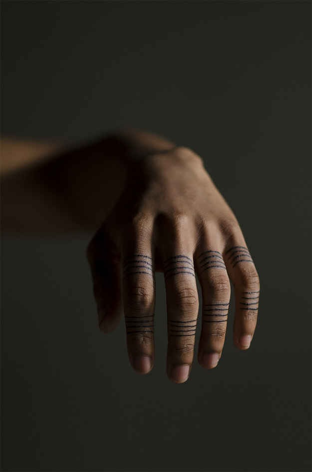 21.Wrapped around fingers