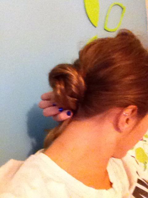 Twist into bun