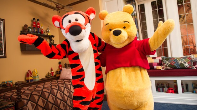 Tigger & Pooh Can be found in Christopher Robin's Room, United Kingdom in the World Showcase.