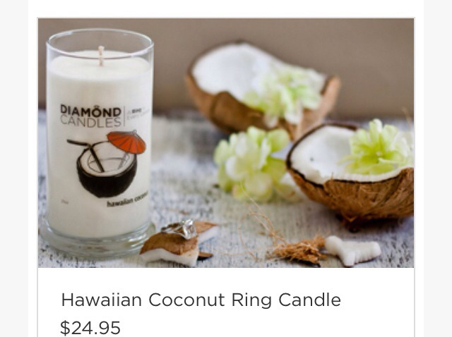 This is a candle and once it burns down there is a ring inside the ring price can range from $5-5000 !