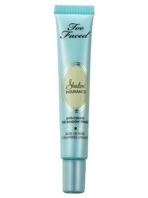 I have been using the shadow insurance primer by too faced a lot this monthit doesn't crease and I like it better than the urban decay primer potion