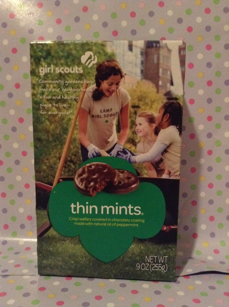 THIN MINTS: 1.put them in fridge/freezer 2. Crumble them over ice cream