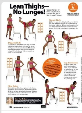 Lean Legs with No Squats!