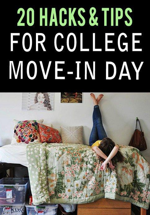 Brought to you by sweat, tears and a whole lot of stress, college move in day is no walk in the park. Hopefully these tips can help simplify life! Well moving into college.